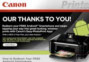 This Is Kind Of A Crappy Thank-You From Canon