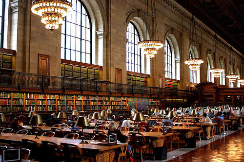 The Poverty-Stricken Masses Are Flocking To Libraries
