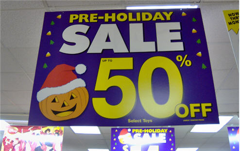 "KB Toys: Who Needs Halloween When You Have The ""Pre-Holidays"" Instead?"