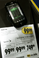 Get A Palm Pre For Only $99 At Best Buy…No, Wait, Never Mind