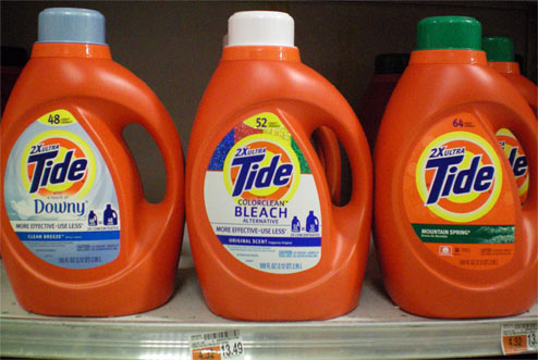 Tide: Mystery Of Different Loads For Different Scents Solved!