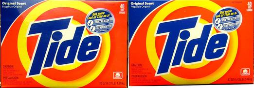 Tide Downsizes, Charges Same Price