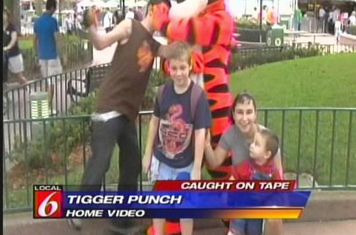 "Tigger ""Punches"" 14 Year-Old Kid, Kid Goes To Hospital"