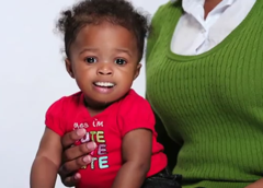Ad With Toothy Baby Pushing Breastfeeding & 'Hooter Hiders' Is Terrifying