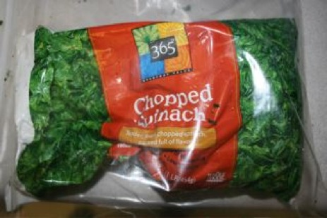 This Bag Of Chopped Spinach Needs More Bird Feathers