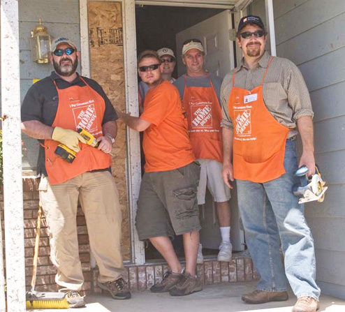 Home Depot Helps With Tornado Damaged House, Just Because