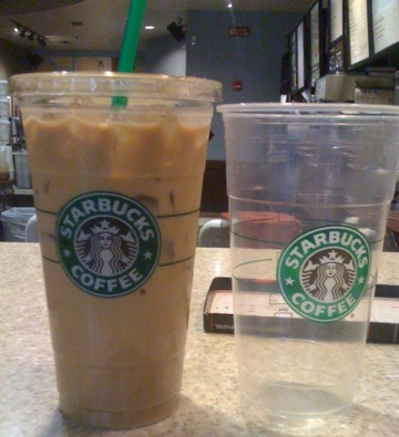 POLL: Do You Need A 31-Ounce Iced Coffee From Starbucks?