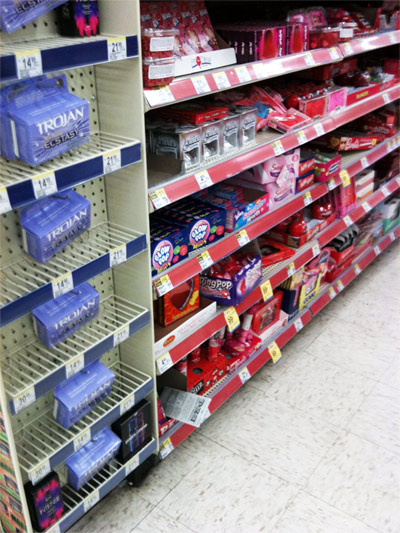 Drugstores Cross-Promoting Chocolate And Condoms For Valentine's