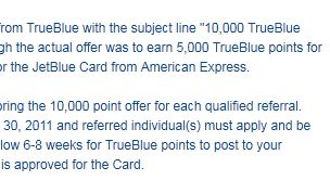 JetBlue Goofs On Rewards Points Offer, Decides To Honor It Anyway