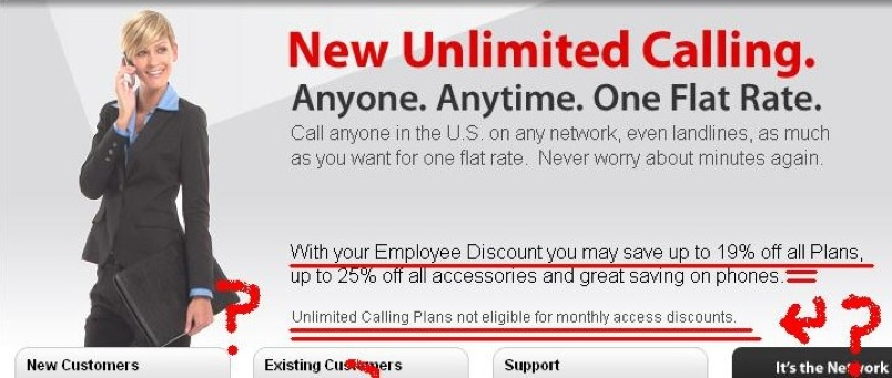 This Verizon Discount Applies To All Plans… Except The One Advertised
