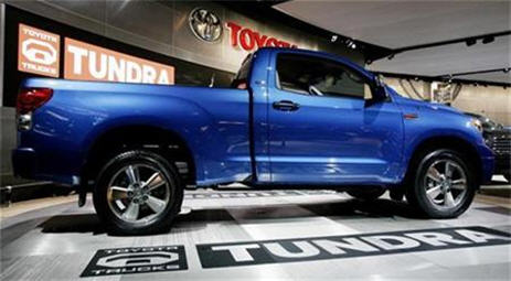 Toyota Recalling 15,600 2007 Tundra Pickup Trucks