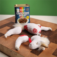 Canned Unicorn Meat Hits Market