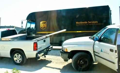 UPS Tells Customer To Pick Up His Package At A Construction Site