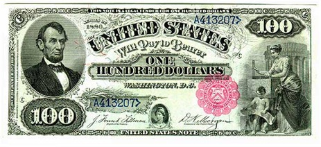 Attention Counterfeiters: Don't Put Lincoln On The $100 Bill Or You Will Be Arrested, Tasered
