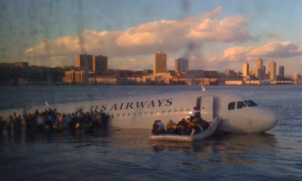 U.S. Airways Flight Makes Surprise Landing In The Hudson