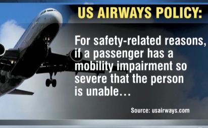 U.S. Airways Tells Man In Wheelchair He's Too Disabled To Be A Passenger