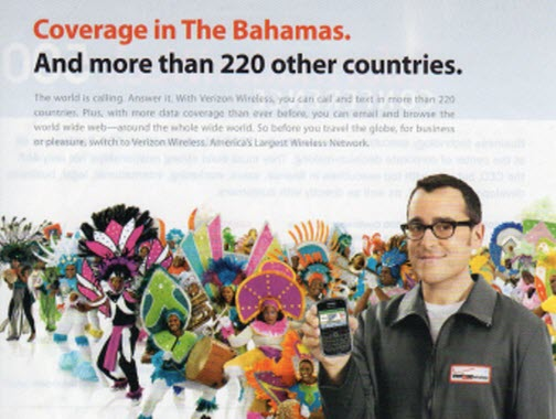 Verizon Claims To Cover More Countries Than Actually Exist
