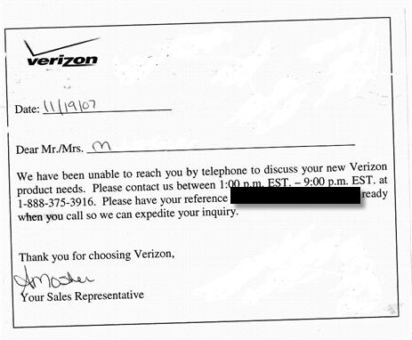 Verizon Loses Your Order, Tries To Install FiOS Without Permission, And Disconnects Your Phone
