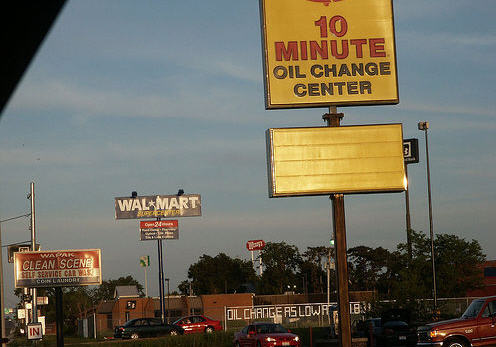 Don't Get Your Oil Changed At Walmart