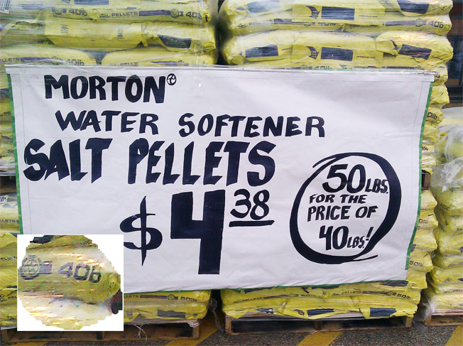 Home Depot Salt Pellet Deal Shrivels Under Scrutiny