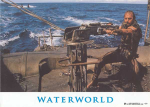 Costner's Waterworldian Devices To Clean Up BP Oil Spill