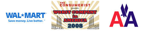 "Worst Company In America ""Elite 8"": Wal-Mart VS American Airlines"