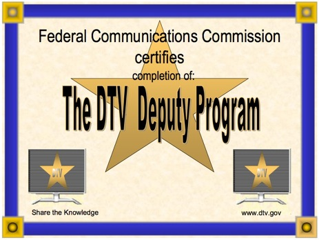 Become A DTV Deputy!