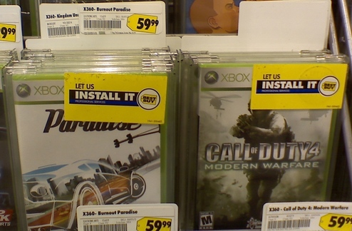 Let Best Buy 'Professionally Install' Your XBox Games