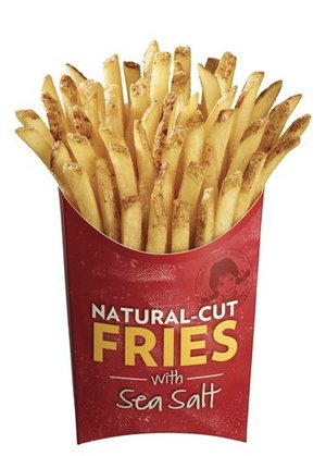 "Wendy's Ready To Take ""Natural"" Fries National"
