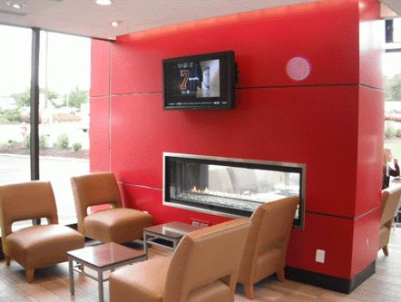 "Wendy's Testing ""Ultra Modern"" Redesign With Digital Menu Boards & Fireplaces"