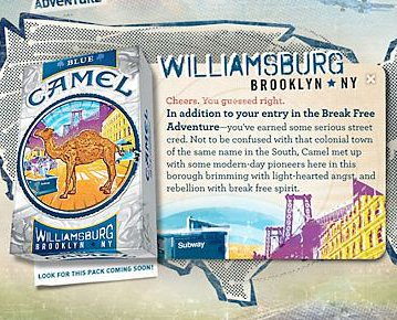 Camel Wants To Give Hipsters Cancer With Brooklyn-Branded Cigarettes