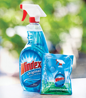 Windex Now Has Refill Pouches You Mix Yourself