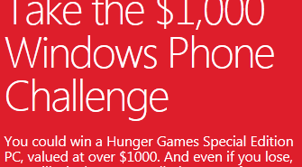 "Microsoft Tells Man He Didn't Win Windows Phone Challenge ""Just Because"""