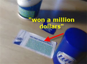 Miller: You Won A Million Dollars. No, Just Kidding.