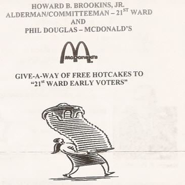Did McDonald's Commit A Crime By Giving Hotcakes To Voters?