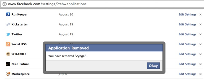 Delete All Facebook Apps You're Not Using