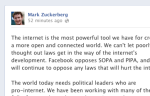 Mark Zuckerberg: We Need Political Leaders Who Are Pro-Internet