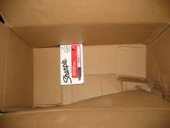Amazon Makes Sure Sharpie Shipment Arrives Very, Very, Very Safely