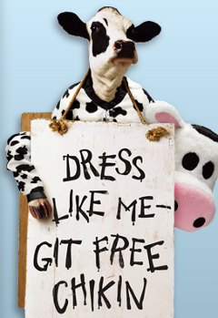Dress Like A Cow On July 13, Get Free Chick-Fil-A