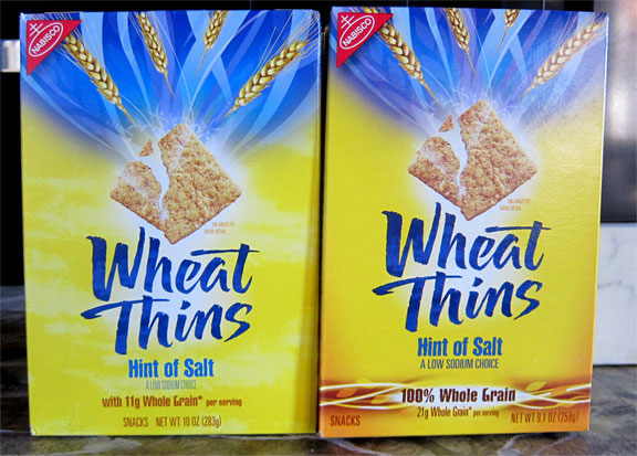 Grocery Shrink Ray Takes Bites Out Of Wheat Thins And Pillsbury Cake Mix