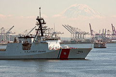 Memo To U.S. Airways Employees: The Coast Guard Is Part Of The Military