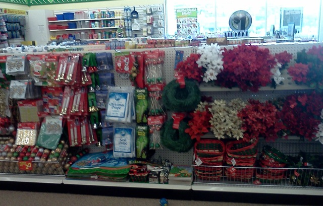There Are More Christmas Decorations For Sale At This Dollar Tree Than Halloween Items