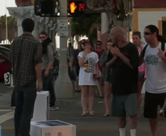 Pranksters Prey On The General Public's Love Of All Things Apple By Pretending To Drop iMacs
