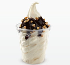 Apparently Putting Hot Fudge On Bottom Of A McDonald's Sundae Instead Of Top Is A Punchable Offense
