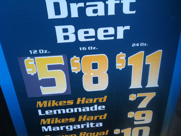 Fuzzy beer math.
