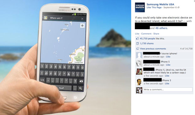 Samsung Asks Rhetorical Question, Gets The Wrong Answer