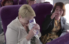 Durex Ad Stunt Replaces Boring Pre-Flight Safety Instructions With Condom Demo On Polish Flight