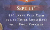 Is This 9/11 Casino Promotion A Nice Tribute, Or Just Tacky?