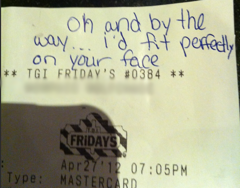 Receipt With Sticker Shock Total Part 2 Picture Of Tgi