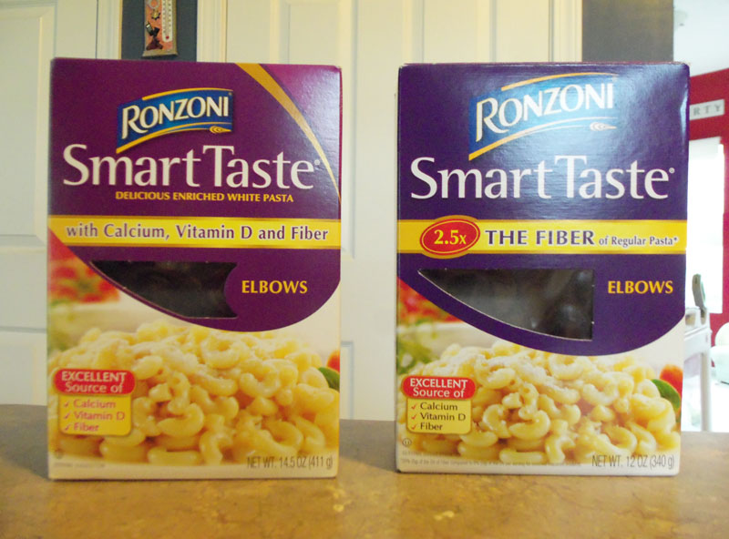 Ronzoni Shrink Rays Pasta Packages, Or Maybe Wants Us To Cut Back On Carbs